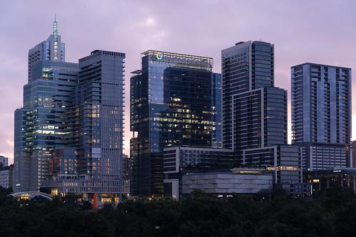 austin austintexas downtown downtownaustin buildings building skyline skyscraper atx texas travel tourism sunrise urban