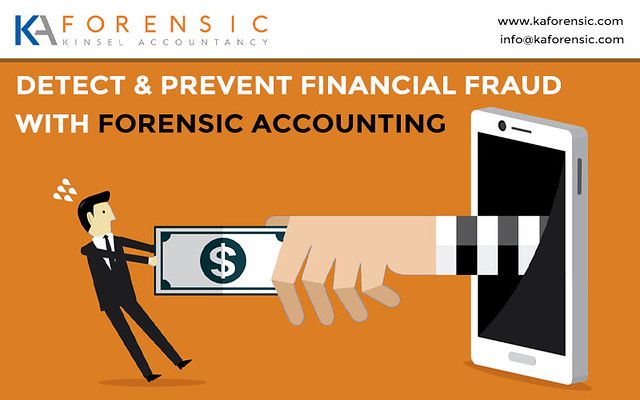 Financial fraud with Forensic Accounting!