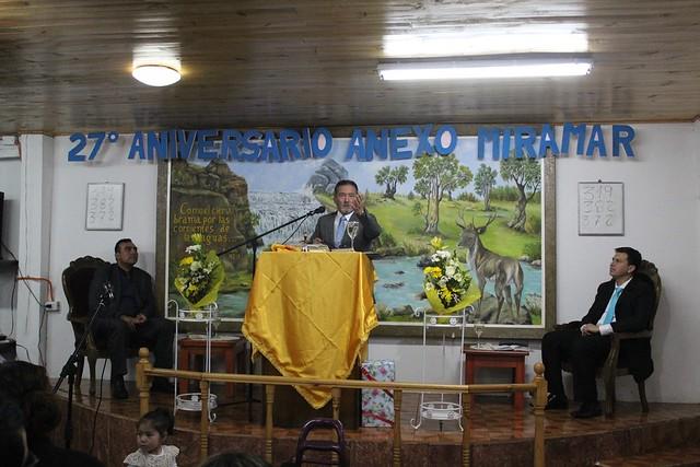 27° Aniversario  Anexo Miramar de Playa Ancha Pacifico