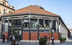 Mercado del Val. Valladolid.