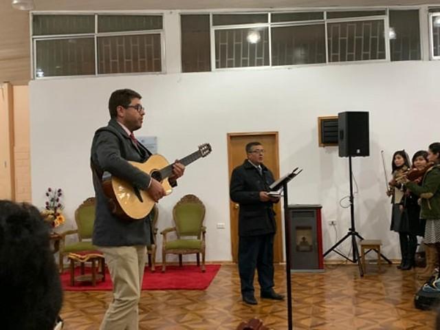¡Unidos para Adorar! Ensayo  de coro UNIPECH en San Antonio