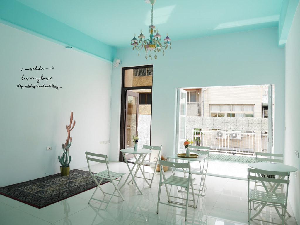 台中夢幻ig餐廳藍箱處好拍網美風打卡拍照推薦咖啡下午茶 (3)
