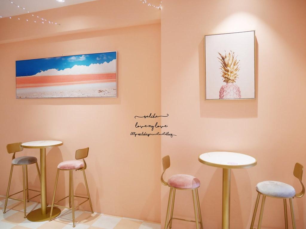 台中中區興民街Blue box藍箱處Tiny Pool小池創意冰淇淋早午餐 (4)