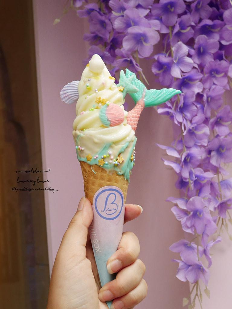Blue box藍箱處Tiny Pool小池創意冰淇淋早午餐夢幻ig甜點拍照打卡推薦 (4)