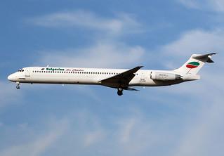 Bulgarian  Air  Charter / Mc Donnell Douglas  MD 82   LZ-LDU / LFBO - TLS / août 2019
