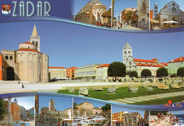 Croatia - Zadar (City on Croatia's Dalmatian coast, is known for the Roman and Venetian ruins of its peninsular Old Town.)