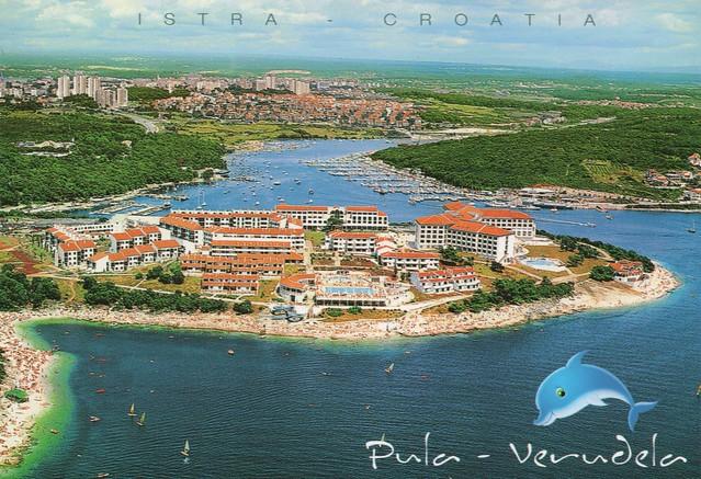 Croatia - Pula (Seafront city on the tip of Croatia's Istrian Peninsula).