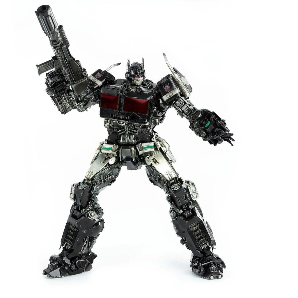 毀滅一切的暗黑刺客現身!! 3A/Threezero DLX比例收藏級系列【暗黑柯博文】Nemesis Prime 可動人偶作品