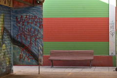 bench and colours