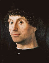 Antonello da Messina, Bildnis eines Mannes - Portrait of a Man