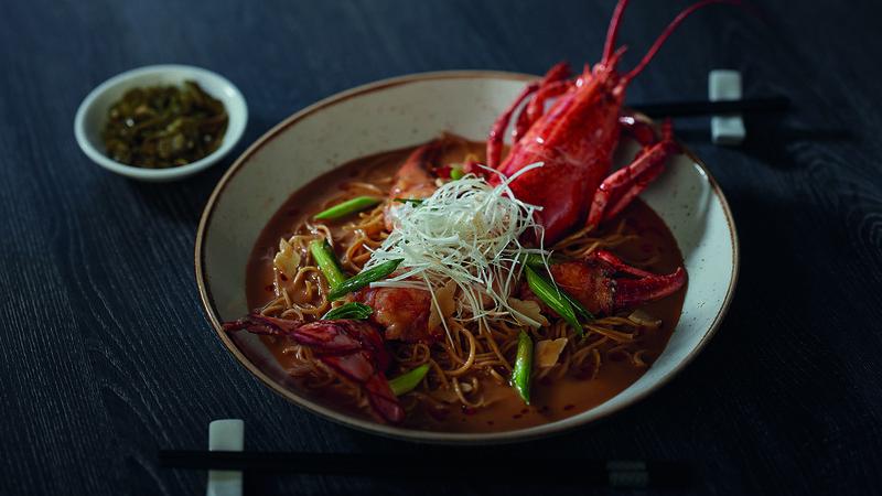 6. Boston Lobster Noodle