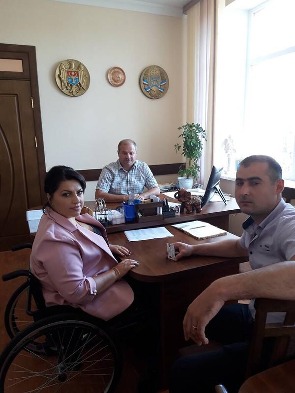 Colaborarea dintre CDPD și autoritățile municipale din Ceadîr-Lunga continua să aducă rezultate in vederea implementării politicii de accesibilitate la nivel local