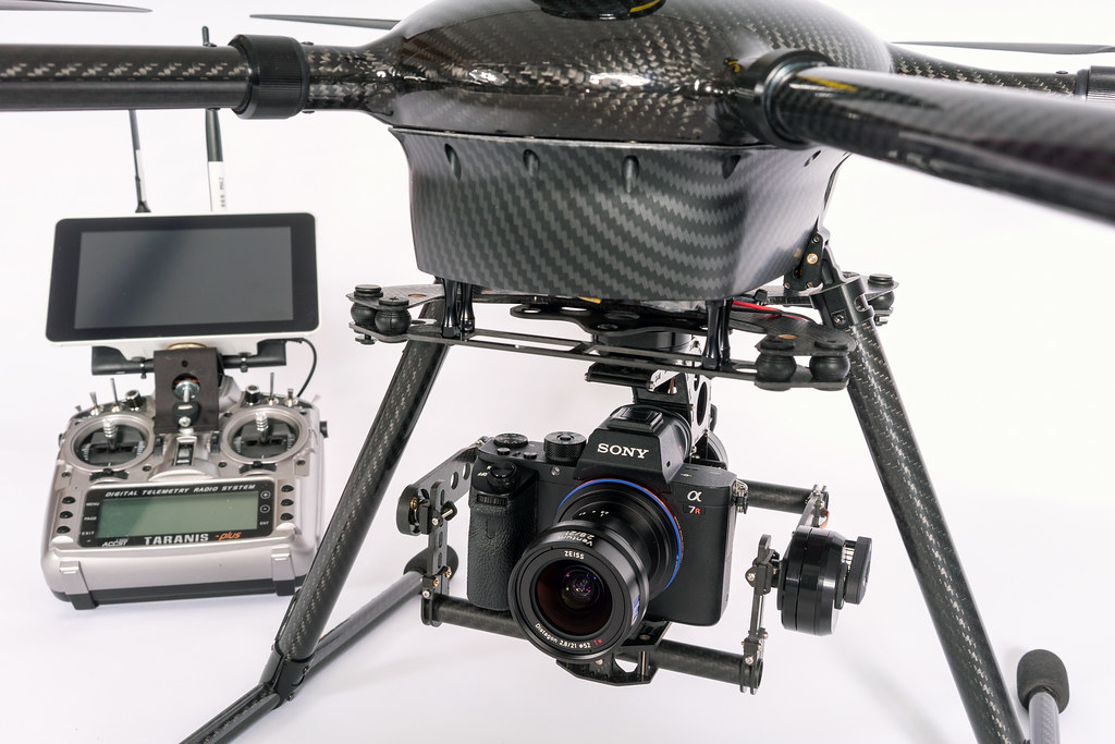 ZEISS Ventum + Sony A7RII on KopterKraft platform