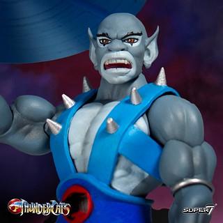 霹靂貓陣營的技術擔當! Super7 Thundercats Ultimate Figure《霹靂貓》猛貓 Panthro 7吋可動人偶作品