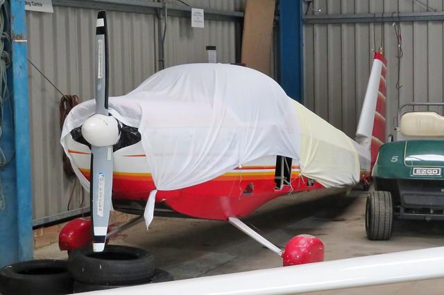 G-BRWT AeroExpo Wycombe Air Park 15 June 2019