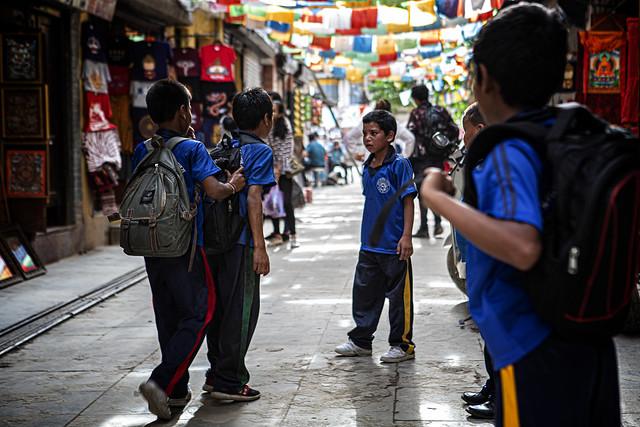 Kids Bullying In Kathmandu