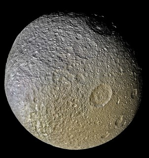 Tethys Approx True Colour (Enlarged)
