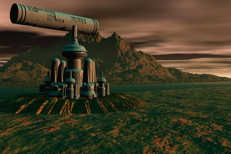 Planet Salas Settlement