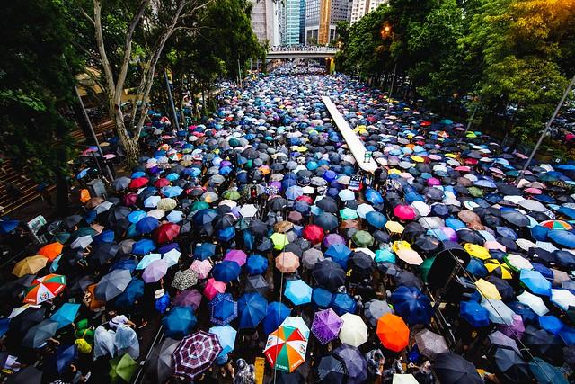 Hong Kong Protests, Victoria Park
