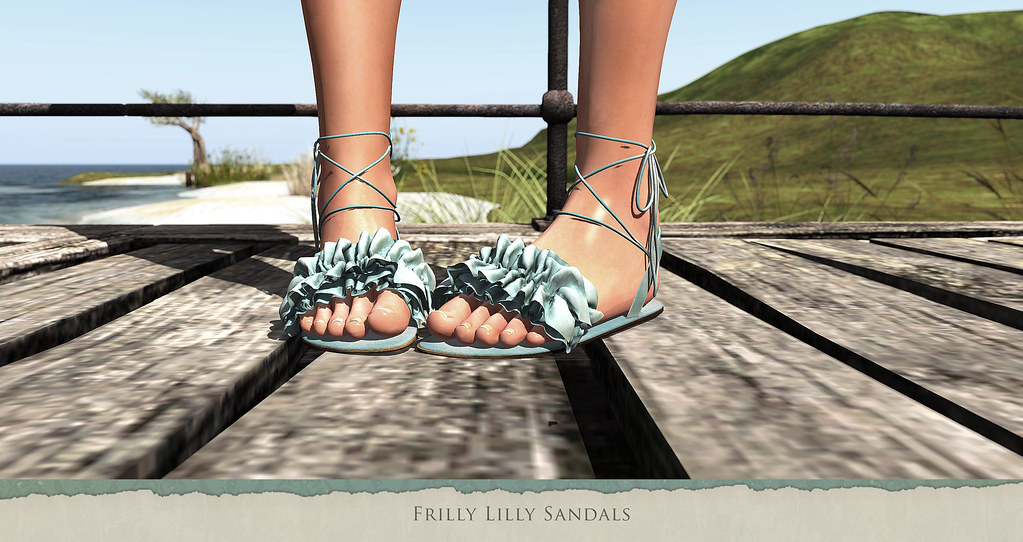 Frilly Lilly Sandals