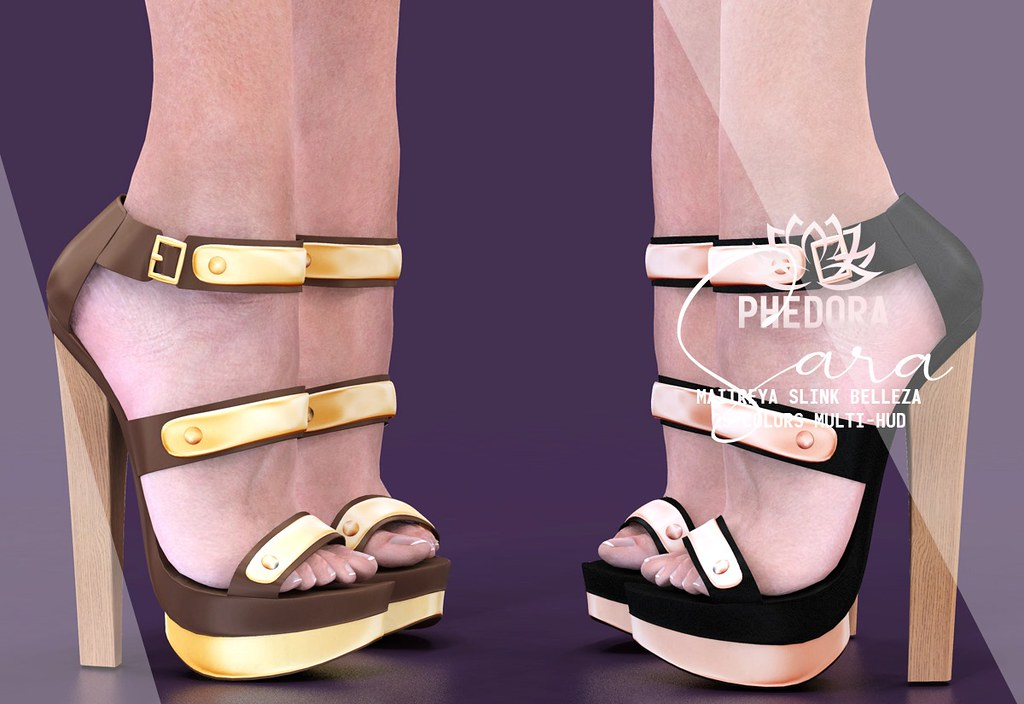 "Phedora for Equal10 – ""Sara"" heels ♥"