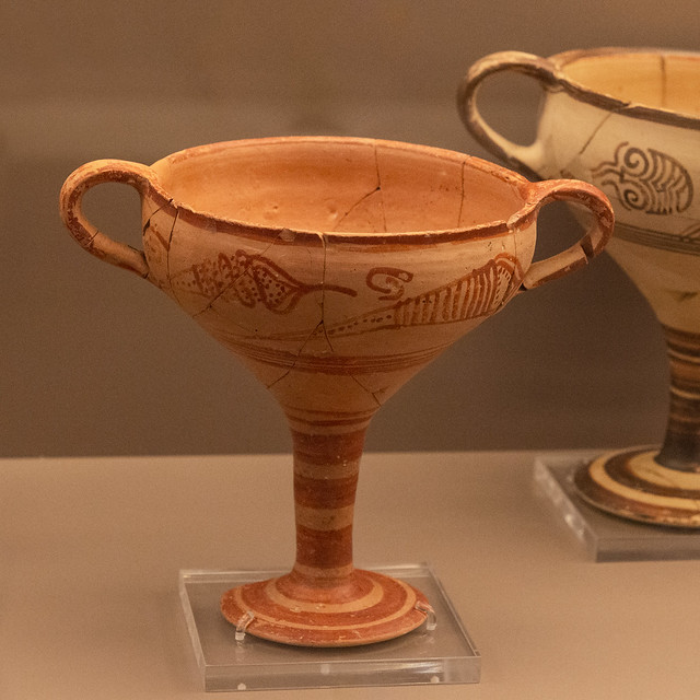 Brauron Museum – Mycenaean Kylix