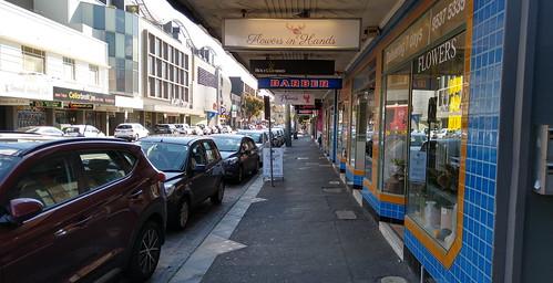 Barkly Street, Sunday morning