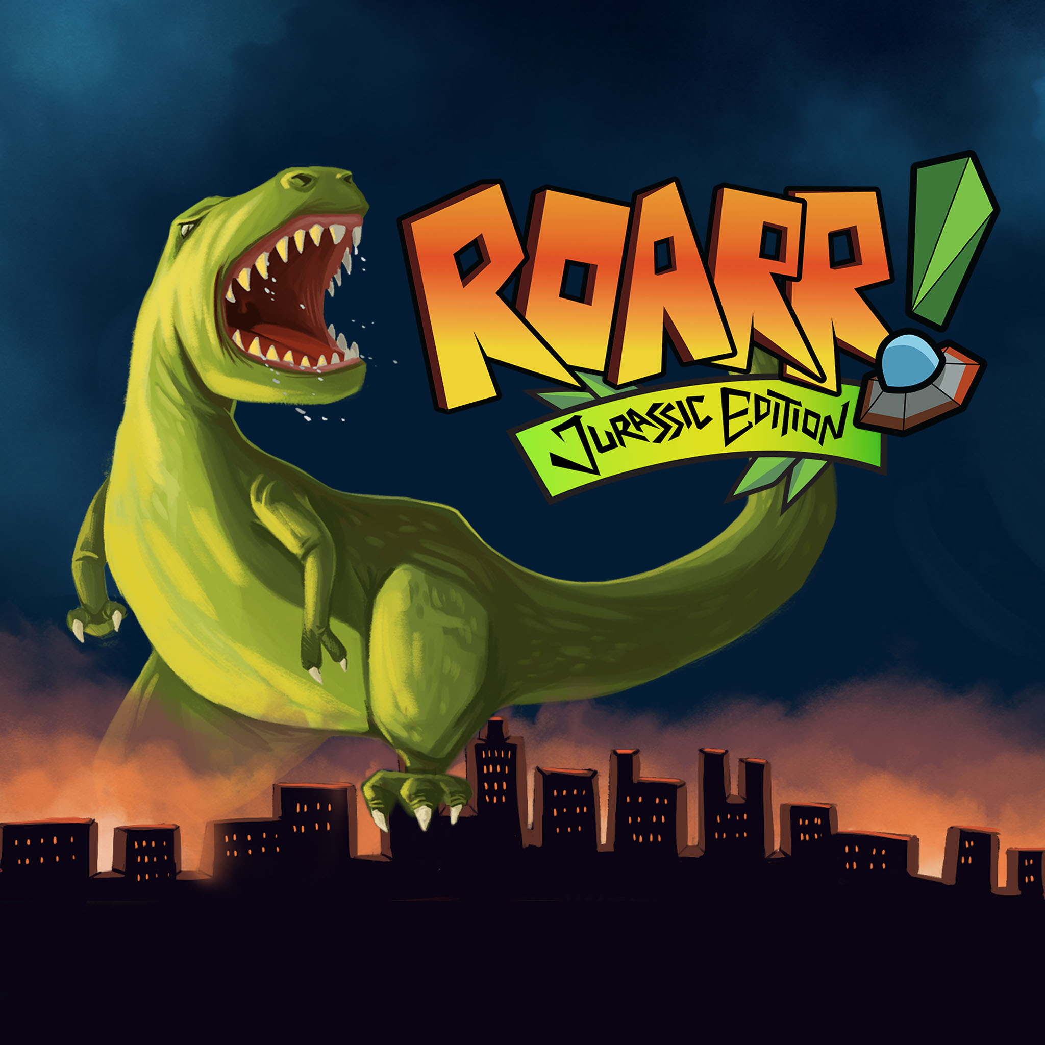 Thumbnail of Roarr! Jurassic Edition on PS4