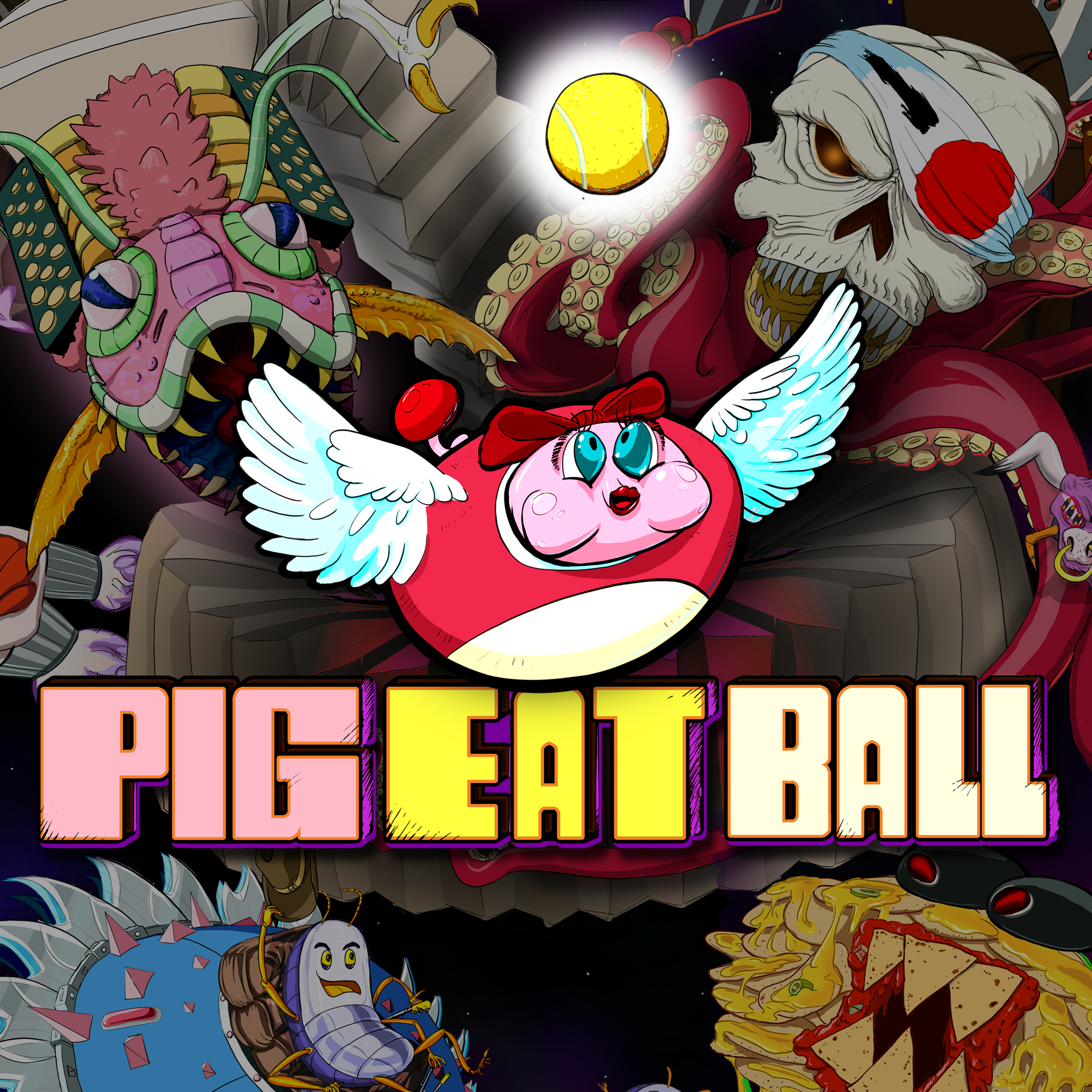 Thumbnail of Pig Eat Ball on PS4