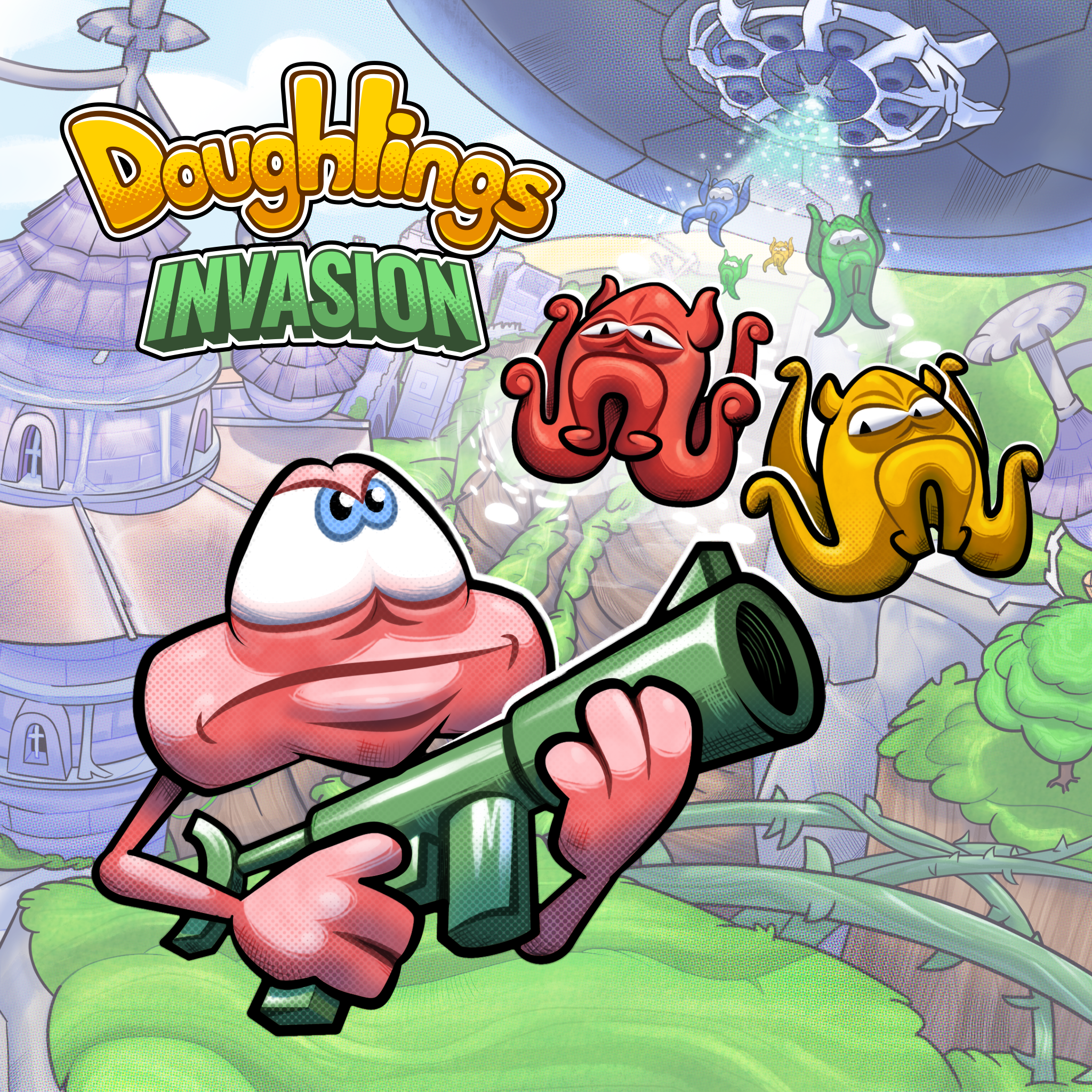 Thumbnail of Doughlings: Invasion on PS4