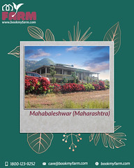 Enjoy in farmhouses of Mahabaleshwar with beautiful hills.