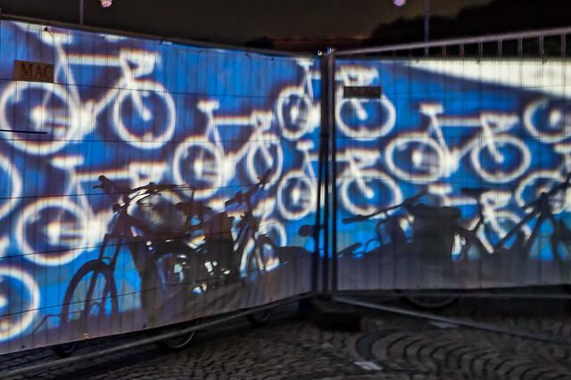 Radlnacht 2019 Zaun Fahrrad