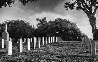 Lápidas cementerio Corozal