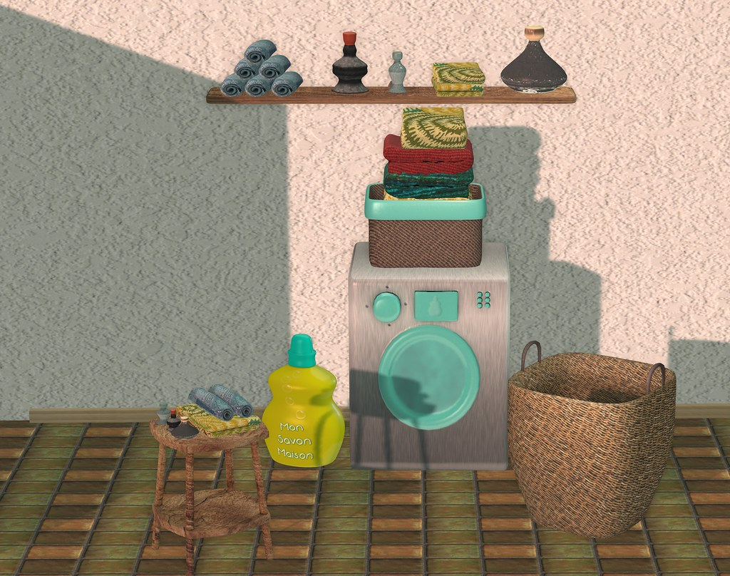WIP Cosy laundry set