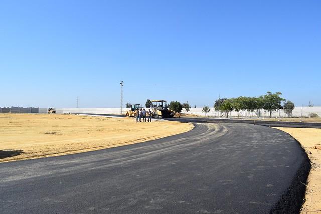 Proyecto de mejora de la pista de atletismo de Los Palacios y Vfca