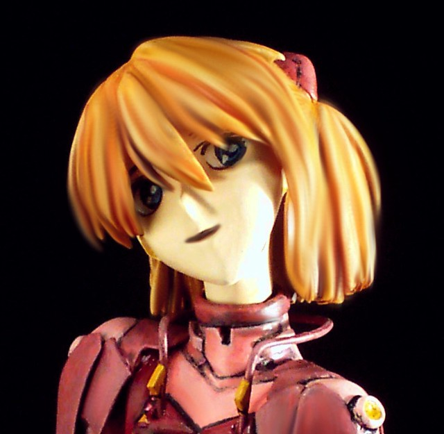 Neon Genesis Evangelion [3 Years After] +++ 1:8 Asuka Soryu Langley in pink plugsuit (kit conversion)