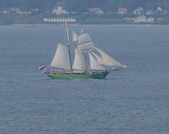 The Dutch schooner Avatar in Öresund