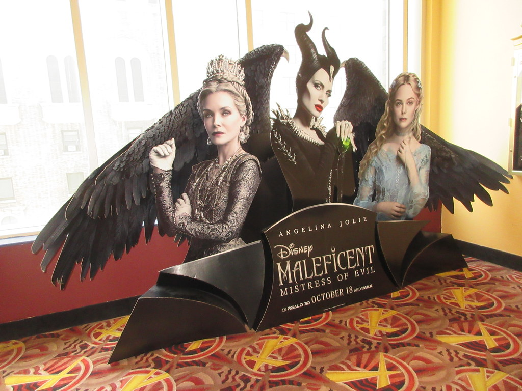 2019 Maleficent Mistress Of Evil Movie Poster Standee 8090