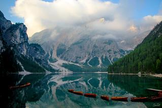 lago di braies-Italy