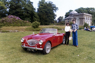 International Austin Healey Weekend 1978. AH 100