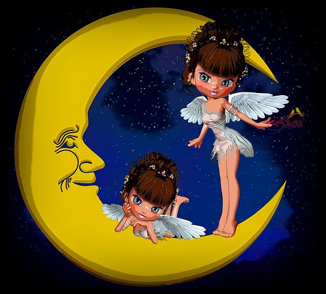 The Moon-Girls