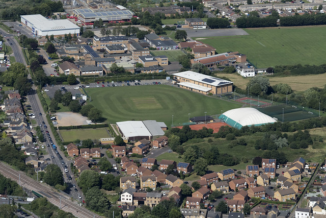 Hunts and District Cricket Club aerial image