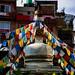 A Small Buddhist Stupa In Kathmandu