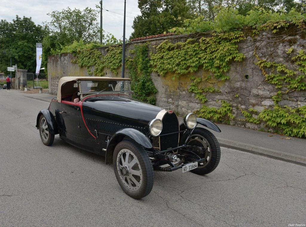 1929 Bugatti type 43 Châssis 43217