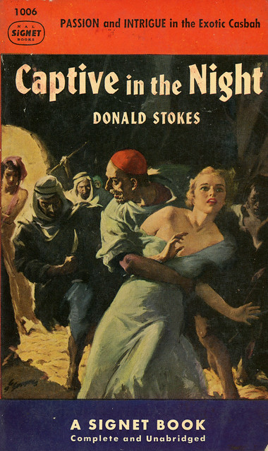 Signet Books 1006 - Donald Stokes - Captive in the Night