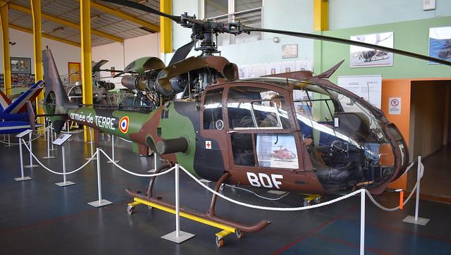Aérospatiale SA.341F Gazelle c/n 1387 France Army serial 1387 code BDF