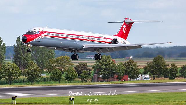 Danish Air Transport McDonnell MD-82 OY-RUT
