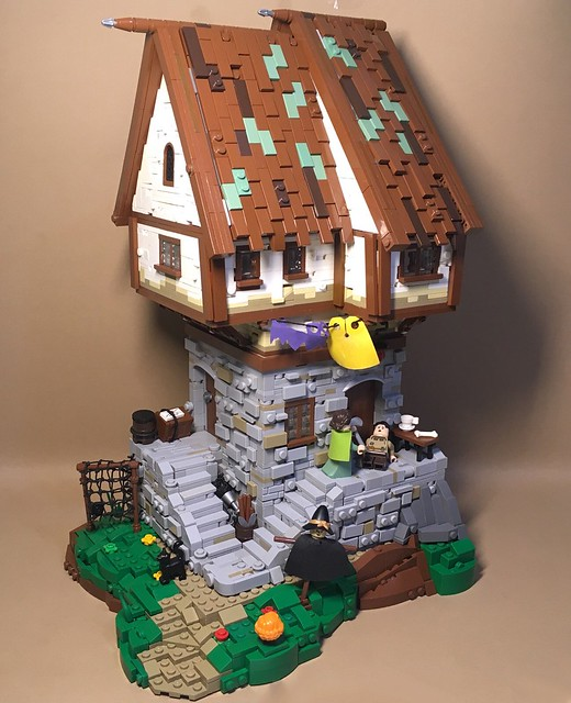 "Hi!Today I present to you my MOC - ""Medieval Shack"".As a basis, I took MOC author Cesar Soares for which he was very grateful .All the best:)"