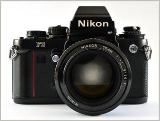 Nikon F3 HP - Nikkor 50mm f1.2 Ai