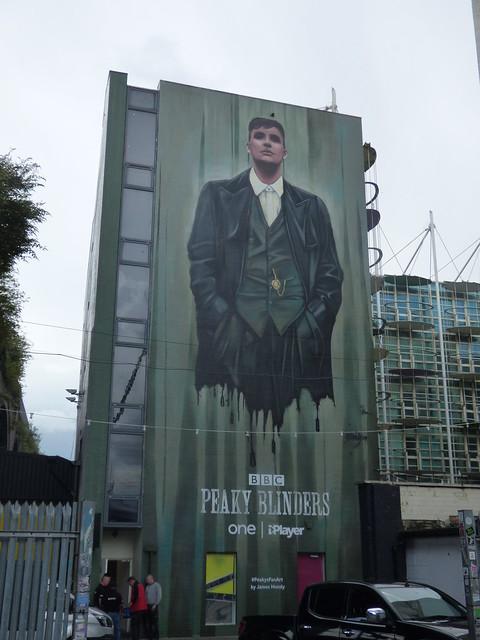 Custard Factory, Digbeth - BBC Peaky Blinders - Peakys Fan Art by James Mundy